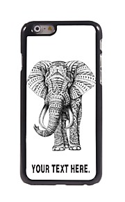 "Personalized Case Elephant Design Metal Case for iPhone 6 (4.7"")"