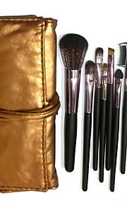7 Brush Sets Nylonkwast / Synthetisch haar / Kwast van geitenhaar Gezicht / Lip / Oog