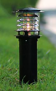 conduit oudoor lumière une lumière moderne en forme de pilier imperméable peinture noire aluminium 220v