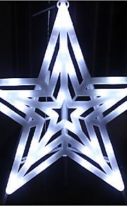 chaîne a mené la lumière de lumière en forme d'étoile moderne 1 plastique blanc 220v