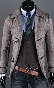 Men's Casual Fashion Thick Trench Coat