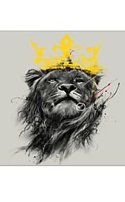 """במקרה פלסטיק מגן גוף מלא עיצוב מלך אריות במשך 13 """"/ 15"""" MacBook Pro-עם תצוגת רשתית"""