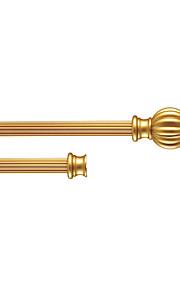 28mm Diameter Stylish Gold Aluminum Double Rod