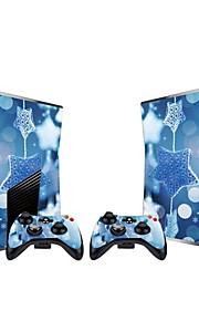 Xbox 360 Slim konsol beskyttende mærkat dække huden controller skin sticker
