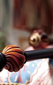 Диаметр 28 мм современный минималистский железа черный один стержень