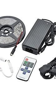 90W 7500lm 300x5630 SMD LED tople bijele svjetlosti LED strip svjetlo setove (DC 12V)