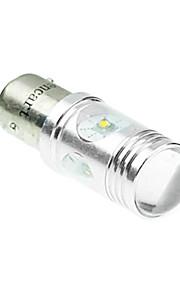 1142 ba15d Cree XP-e conduit 20w 1300-1600lm 6500-7500k ac / DC12V-24 tour lumière -silver blanc transparent