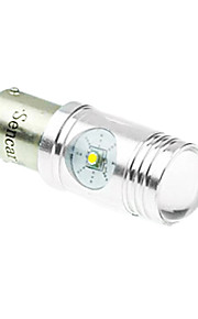 1157 p21 / 5W ba15d Cree XP-e conduit 20w 1300-1600lm 6500-7500k ac / DC12V-24V tourner lumière blanche - argent transparent