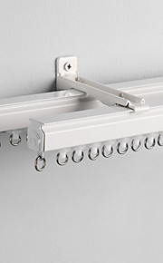 Dola Double Track for Sheer and Curtain,Wall Mounted