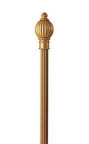 Диаметр 28 мм классический золотой твердого алюминия одного стержня