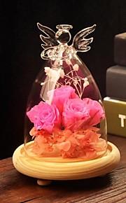 tabellen center DIY terrarium / engel glassdekselet bord deocrations (planter ikke inkludert)
