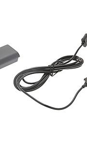 360 mini spil&oplader kit 35 timer om opladning Xbox 360 4800mAh batteri&oplader