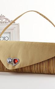 Handbag Silk/Crystal/ Rhinestone Evening Handbags/Bridal Purse With Crystal/ Rhinestone