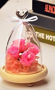 bordcenter DIY kjærlighetsglassdekselet bord deocrations (planter ikke inkludert)