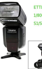 TRIOPO TR-982II N i-TTL Master/Slave High Speed Sync 1/8000s Flash Speedlite for Nikon DSLR Camera