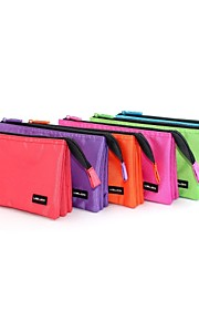 USLON® Beautiful Polyester  Accordion Style Multifunction Fashion Colorful Three Pen Bags in One Pencil Case