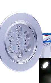 SENCART 7 W 7PCS Integrate LED 700-750 LM Cool White Recessed Retrofit Decorative Ceiling Lights AC 85-265 V