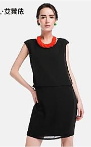 Women's Blue/Black Dress , Bodycon/Casual Sleeveless