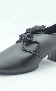 Similicuir dentelle danse de salon Chaussures pour femmes