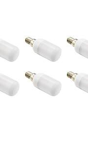 Ampoules Maïs LED Blanc Chaud 6 pièces T E14 3W 9 SMD 5730 210 LM AC 100-240 / AC 110-130 V