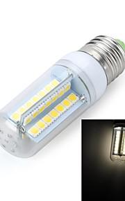 marsing® e27 10w 900lm 56 x SMD 5050 a mené la lampe chaud / froid ampoule blanc (220V)