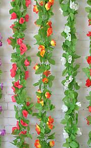 décoration de mariage 2m (6,5 pi) fleur verte vigne décoration