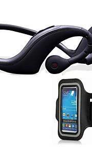 M36 headset stereo subwoofer annullering støj bluetooth løbet øre til PC iphone 6 / 6plus / 5 / 5s / 4 / 4s samsung htc lg sony