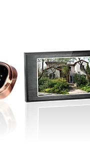 4.7inch gsm kijkgaatje video deurbel, gsm oproep + bewegingsdetectie + fotoshoot + ir nachtzicht functie