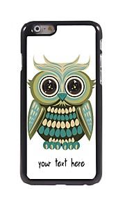 """персонализированные случай прекрасная сова дизайн корпуса металл для Iphone 6 (4,7 """")"""