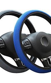 auto ungdom stof fiskenet syninger bil rat dækning universal fit (37cm-38cm) farve blå grå
