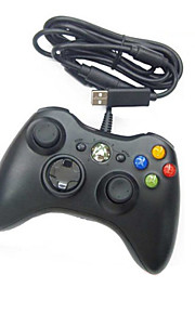 kabel usb controller til pc& Xbox 360 (sort-hvid)