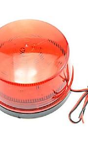 sikkerhed rødt blinkende advarselslys til motorcykel / bil