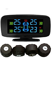 dæk-system pressyre overvågning med 4 eksterne sensorer, psi / bar, diagnoseværktøj, TPMS psi, bil TPMS