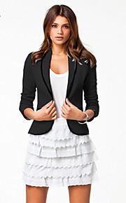 Gu.Mu.Xi Women's Korean Slim Thin Lapel Short Type Blazer