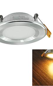 youoklight® 7W 600lm alb cald / alb a condus lampă de tavan (ac 100 ~ 240V)
