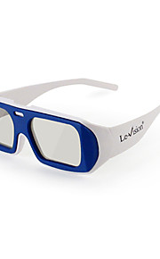 Rotatory Polarized 3D Glasses for Cinema(Random Color)