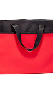 שקית אדומה קוריאנית ניידת עמיד למים תיקיית נייר עם רוכסן