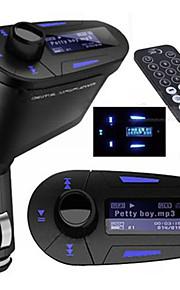 fm-zender met bluetooth handsfree carkit / met draadloze controller / bluetooth 2.0 / mp3 afspelen SD / MMC-kaart