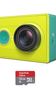 Xiaomi Xiaoyi 1080p 16MP CMOS sport kamera videokamera / Wi-Fi / bluetooth 4,0 - grøn (32gb tf)