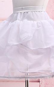Déshabillés ( Nylon , Blanc ) - Robe de soirée longue - 3
