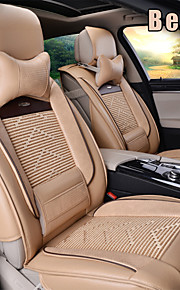 Leather 8 PCS Set All Seasons General Car Seat Covers Protection Seat Universal Fit Car Accessories
