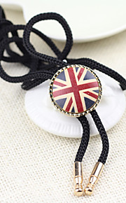 Men Party/Casual Nylon/Other British Style National Flag Neck Tie
