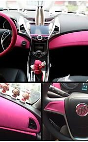 1.35 * 1m 8 colori pellicola tessuto in velluto Velluto camoscio auto pellicola autoadesivo dell'automobile della decorazione del corpo di