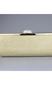 Mushroom With Diamond Metal Handbag Evening Handbags/Clutches/Mini-Bags/Totes With Chain