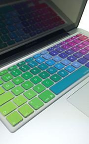 """coosbo® zweedse kleurrijke siliconen toetsenbord huid van de dekking eu lay-out voor 13 """"/ 15"""" / 17 """"macbook air pro / netvlies / imac"""