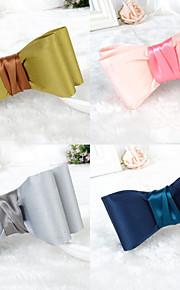 koreansk mote vill damene silke håndlaget klut bow hårnål