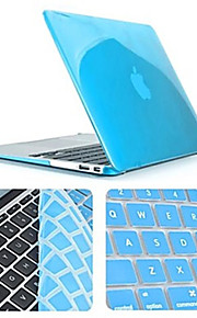 topkwaliteit slanke crystal full body case met toetsenbord hoes voor MacBook Pro 13,3 inch (verschillende kleuren)