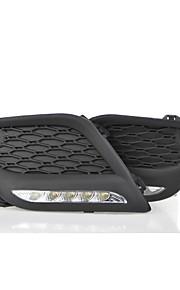 LED - Bil - Dags Kørelys ( Hvid , 6000K )