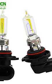 xencn HB3 9005 12v 100w 2300K ojos dorados bombillas de automóviles súper ligero amarillo reemplazan lámpara halógena faros de