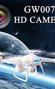 2015 miehittämätön UAV ilma, 2.4G rc UAV gw007 quadcopter HD 2MP kamera
